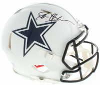 Deion Sanders Signed Cowboys Full-Size Authentic On-Field Matte White Speed Helmet (Beckett COA) at PristineAuction.com