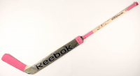 Mike Hutchinson Game-Used Reebok Goalie Stick (YSMS COA) at PristineAuction.com