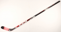"""Brent Burns Signed Game-Used Hockey Stick Inscribed """"Game Used"""" (YSMS COA & Burns COA) at PristineAuction.com"""