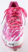 """Ender Inciarte Signed Pair of Adidas Game-Used Baseball Cleats Inscribed """"GU 15"""" (MLB Hologram) at PristineAuction.com"""