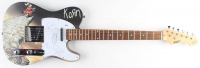 "Reginald Arvizu, James Shaffer, Jonathan Davis & Brian Welch Signed Full-Size Electric Guitar Inscribed ""Munky"", ""Fieldy"" & ""Head"" (PSA LOA) at PristineAuction.com"