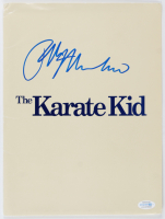 "Ralph Macchio Signed ""The Karate Kid"" 9x14 Folder (AutographCOA COA) at PristineAuction.com"