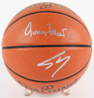 Shaquille O'Neal & Jerry West Signed Official NBA Game Ball Series Basketball (PSA COA) at PristineAuction.com