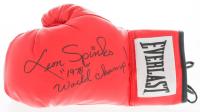 """Leon Spinks Signed Everlast Boxing Glove Inscribed """"1978 World Champ!"""" (JSA Hologram) at PristineAuction.com"""