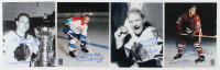 """Lot of (4) Bobby Hull Signed Blackhawks 8x10 Photos Inscribed """"'61 Cup Champs"""" & """"HOF 1983"""" (Hull Hologram) at PristineAuction.com"""