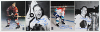 "Lot of (4) Bobby Hull Signed Blackhawks 8x10 Photos Inscribed ""'61 Cup Champs"", ""1st 50th"" & ""HOF 1983"" (Hull Hologram) at PristineAuction.com"