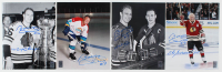 "Lot of (4) Bobby Hull Signed Blackhawks 8x10 Photos Inscribed ""'61 Cup Champs"", ""The Golden Jet"" & ""HOF 1983"" (Hull Hologram) at PristineAuction.com"