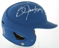 Bo Jackson Signed Full-Size Matte Blue Royals Authentic On Field Batting Helmet (Beckett COA) at PristineAuction.com