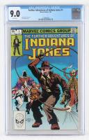 "1983 ""Indiana Jones"" Issue #1 Marvel Comic Book (CGC 9.0) at PristineAuction.com"