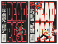 Lot of (2) 1994 Deadpool Comic Books with First & Second Issues at PristineAuction.com