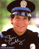"Steve Guttenberg Signed ""Police Academy"" 8x10 Photo (JSA COA) at PristineAuction.com"