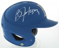 Bo Jackson Signed Full-Size Matte Blue Royals Authentic On Field Batting Helmet (Beckett COA) at PristineAuction.com