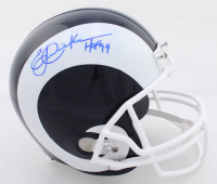"Eric Dickerson Signed Rams Full-Size Helmet Inscribed ""HOF 99"" (JSA COA) at PristineAuction.com"