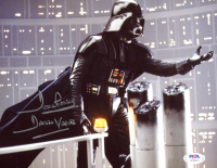 "David Prowse Signed ""Star Wars"" 8x10 Photo Inscribed ""Darth Vader"" (PSA COA) at PristineAuction.com"
