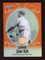 Babe Ruth 2019 Leaf Metal Babe Ruth Collection Bats Orange #SB24 at PristineAuction.com