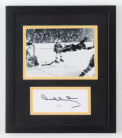 Bobby Orr Signed Bruins 10.5x12 Custom Framed Cut Display (JSA COA) at PristineAuction.com