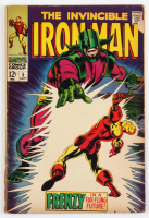 "Vintage 1968 ""The Invincible Iron Man"" Issue #5 Marvel Comic Book at PristineAuction.com"