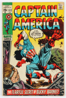 "Vintage 1970 ""Captain America"" Issue #132 Marvel Comic Book at PristineAuction.com"