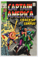 """Vintage 1969 """"Captain America"""" Issue #120 Marvel Comic Book at PristineAuction.com"""