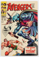 "Vintage 1967 ""The Avengers"" Issue #50 Marvel Comic Book at PristineAuction.com"