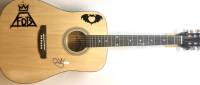 Pete Wentz Signed Full-Size Acoustic Guitar (JSA COA) at PristineAuction.com