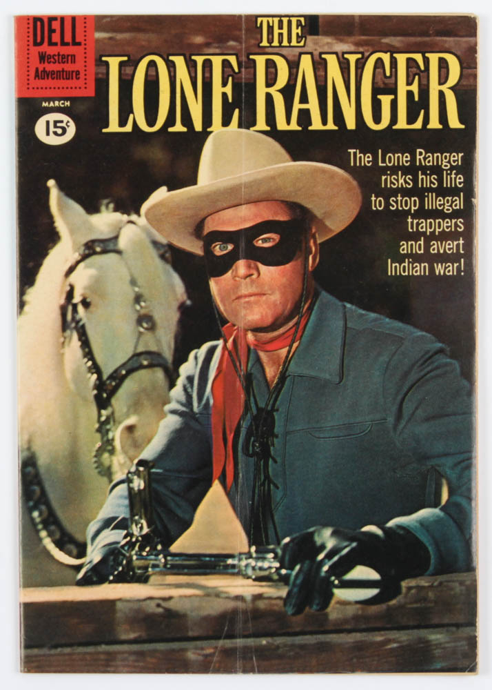 "Vintage 1961 ""The Lone Ranger"" Issue #138 Dell Comic Book at PristineAuction.com"
