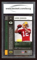 Aaron Rodgers 2005 Upper Deck Rookie Premiere #16 (BCCG 10) at PristineAuction.com