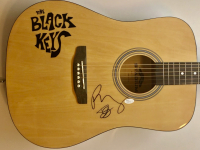 "Dan Auerbach & Patrick Carney Signed ""The Black Keys"" Full-Size Acoustic Guitar (JSA COA) at PristineAuction.com"