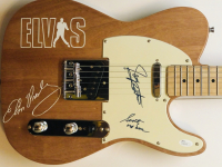 James Burton & Scotty Moore Signed Full-Size Electric Guitar (JSA COA) at PristineAuction.com