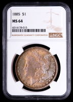 1885 Morgan Silver Dollar (NGC MS64) (Toned) at PristineAuction.com