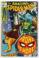 "Vintage 1969 ""Amazing Spider-Man"" Issue #79 Marvel Comic Book at PristineAuction.com"
