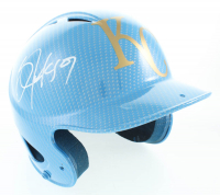 Bo Jackson Signed Full-Size Royals Hydro Dipped Authentic On Field Batting Helmet (Beckett COA) at PristineAuction.com