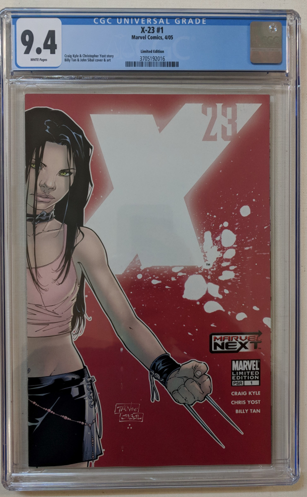 "2005 ""X-23"" Issue #1 Marvel Comic Book (CGC 9.4) at PristineAuction.com"