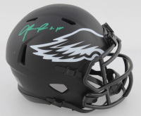 Jalen Reagor Signed Eagles Eclipse Alternate Speed Mini Helmet (Beckett COA) at PristineAuction.com