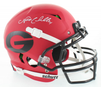 Nick Chubb Signed Georgia Bulldogs Full-Size Authentic On-Field Vengeance Helmet (Beckett COA) at PristineAuction.com