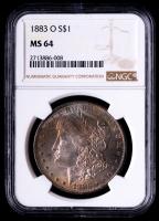 1883-O Morgan Silver Dollar (NGC MS64) (Toned) at PristineAuction.com