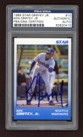 Ken Griffey Jr. Signed 1989 Star Griffey Jr. #10 (PSA Encapsulated) at PristineAuction.com