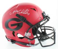 Nick Chubb Signed Georgia Bulldogs Full-Size Authentic On-Field Vengeance Helmet (Beckett COA) at PristineAuction.com