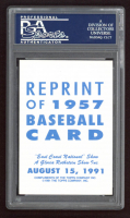 Frank Robinson Signed 1991 Topps East Coast National #4 (PSA Encapsulated) at PristineAuction.com