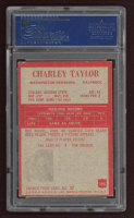 "Charley Taylor Signed 1965 Philadelphia #195 RC Inscribed ""HOF 84"" (PSA Encapsulated) at PristineAuction.com"