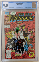 "1990 ""The New Warriors"" Issue #1 Marvel Comic Book (CGC 9.0) at PristineAuction.com"