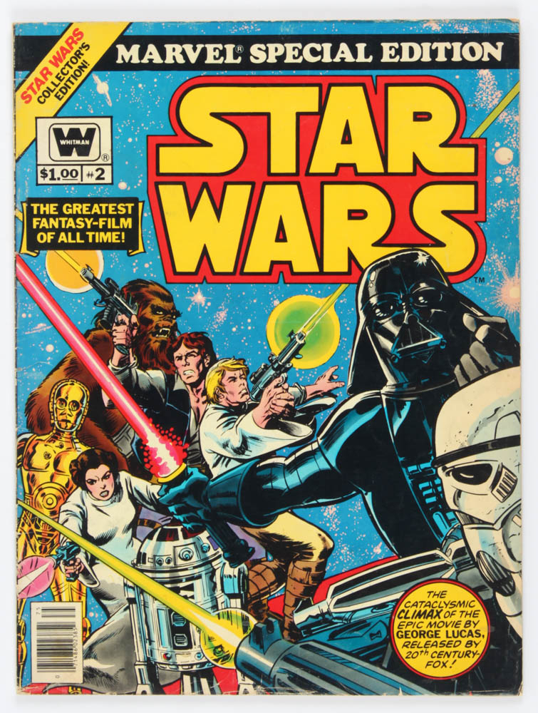 """1977 """"Marvel Special Edition: Star Wars"""" Issue #2 Comic Book at PristineAuction.com"""