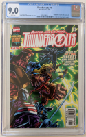 "1997 ""Thunderbolts"" Issue #1 Marvel Comic Book (CGC 9.0) at PristineAuction.com"