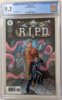 "1999 ""R.I.P.D."" Issue #1 Dark Horse Comic Book (CGC 9.2) at PristineAuction.com"