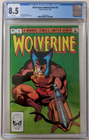 """1982 """"Wolverine"""" Issue #4 Marvel Comic Book (CGC 8.5) at PristineAuction.com"""