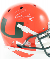 Ray Lewis Signed Miami Hurricanes Full-Size Authentic On-Field Helmet (Beckett COA) at PristineAuction.com