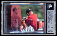 Tiger Woods 2001 Upper Deck Tiger's Championship Collection #TCC4 97 Masters (BGS 9) at PristineAuction.com