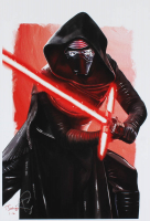 "Tony Santiago - Kylo Ren - ""Star Wars"" 13x19 Signed Lithograph (PA COA) at PristineAuction.com"