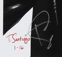 """Tony Santiago - Kylo Ren - """"Star Wars"""" 13x19 Signed Lithograph (PA COA) at PristineAuction.com"""