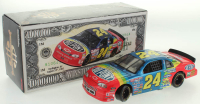 Jeff Gordon LE #24 DuPont Million Dollar Date 1997 Monte Carlo 1:24 Scale Stock Car at PristineAuction.com